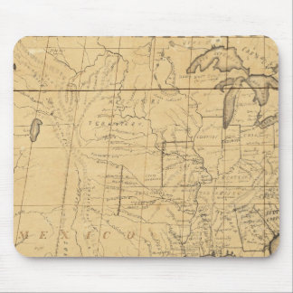 Children's Map Of The United States Mouse Pad