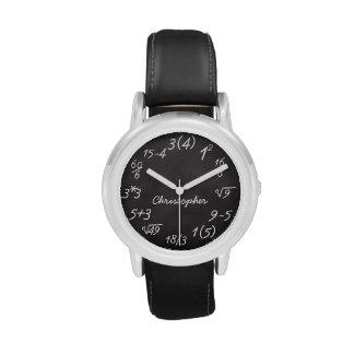 Children's Math Wristwatches