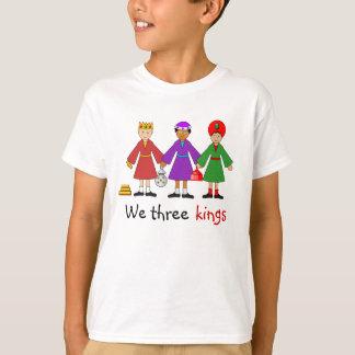 Children's Nativity -- We three kings T-Shirt