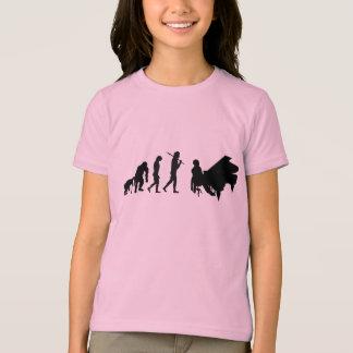Childrens Pianist Evolution of Piano Music Art T-Shirt