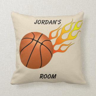 Children's Pillow Basketball Flames