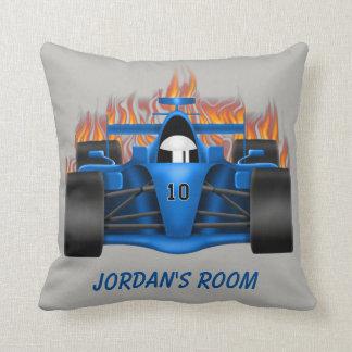 Children's Pillow Racing Car Flames