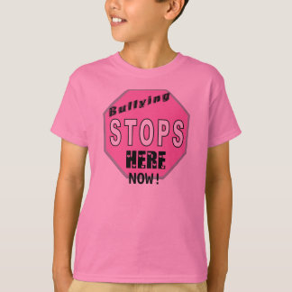 Childrens Pink Shirt Day Shirt