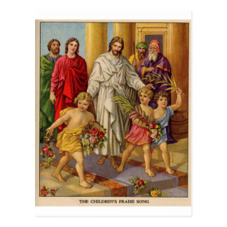 Childrens Praise march Postcard