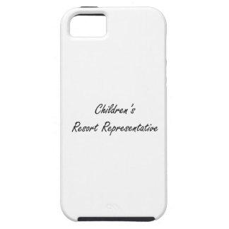 Children's Resort Representative Artistic Job Desi Tough iPhone 5 Case