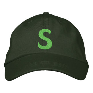 """Childrens """"S"""" Embroidered Hats"""