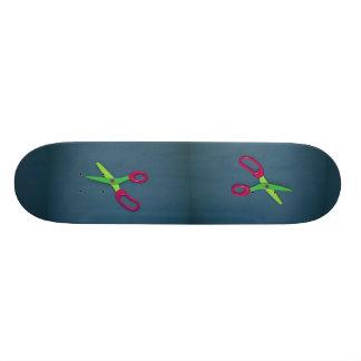 Children's scissors custom skateboard