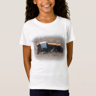 Children's top with cute pony picture.