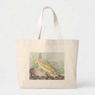 Children's Winning Artwork: apache trout Jumbo Tote Bag