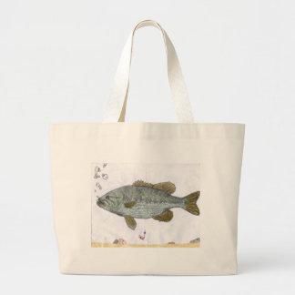 Children's Winning Artwork: bass Tote Bag