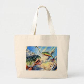 Children's Winning Artwork: brook trout Bag