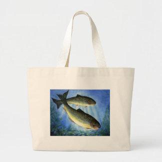 Children's Winning Artwork: brook trout Canvas Bag