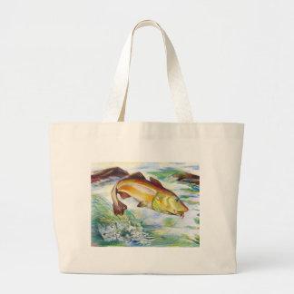 Children's Winning Artwork: cod Jumbo Tote Bag