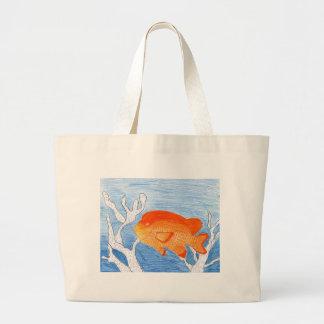 Children's Winning Artwork: garibaldi Jumbo Tote Bag