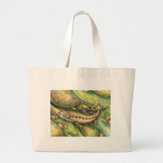 Children's Winning Artwork: golden trout Jumbo Tote Bag