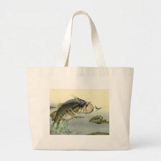 Children's Winning Artwork: largemouth bass Canvas Bag