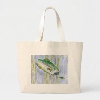 Children's Winning Artwork: largemouth bass Bag