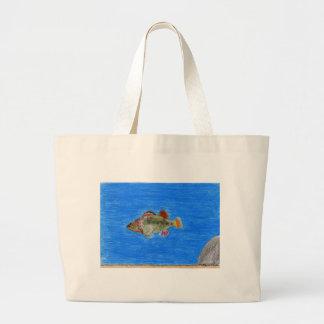 Children's Winning Artwork: rainbow darter Jumbo Tote Bag