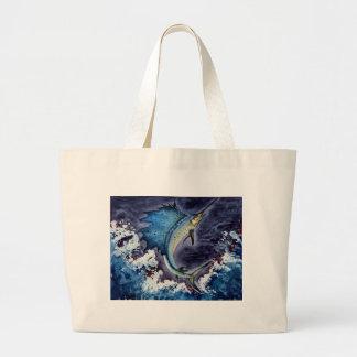 Children's Winning Artwork: sailfish Jumbo Tote Bag