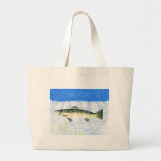 Children's Winning Artwork: trout Bag