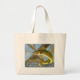 Children's Winning Artwork: walleye Bags