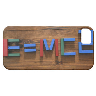 Child's building blocks arranged to show E=mc2 Barely There iPhone 5 Case