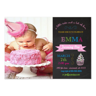Child's Chalkboard Custom Birthday Party Invitatio 13 Cm X 18 Cm Invitation Card