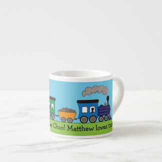 Child's Choo Choo Steam Train Mug