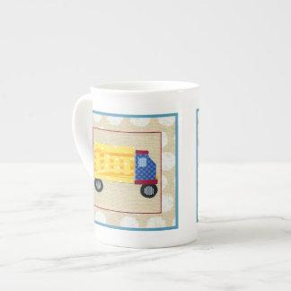 Child's Dump Truck by Chariklia Zarris Bone China Mug