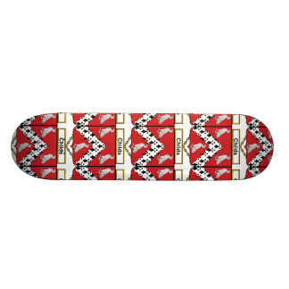 Childs Family Crest Skate Board Decks