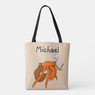 Child's Personalized Beach Tote Bag