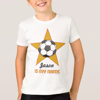 Child's Personalized Soccer Star T-shirt