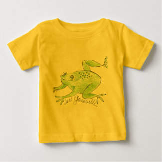 Child's T-Shirt/Frog and French Tee Shirts