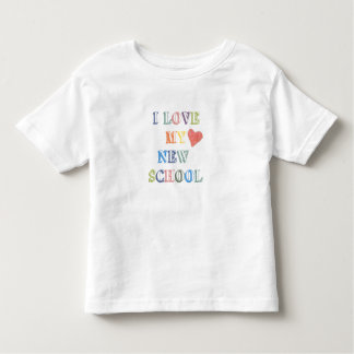 Child's T-Shirt I Love My New School