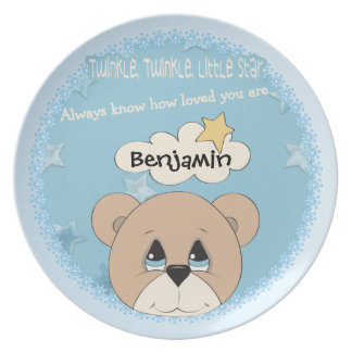 Child's Twinkle Little Star Plate