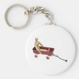ChildToyWagon112409 Keychain