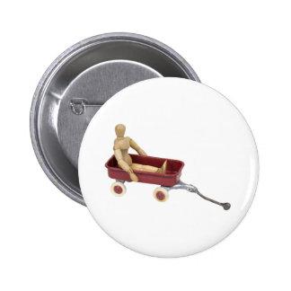 ChildToyWagon112409 Pinback Button