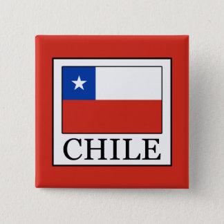 Chile 15 Cm Square Badge