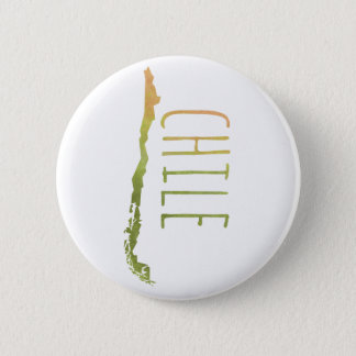 Chile 6 Cm Round Badge
