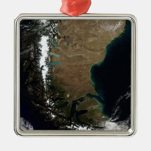 Chile and the Patagonian region of Argentina Christmas Tree Ornaments