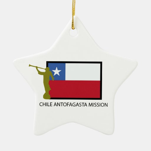 Chile Antofagasta Mission LDS CTR Christmas Tree Ornaments