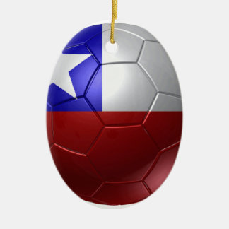 Chile ball ceramic ornament