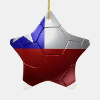Chile ball ceramic star decoration