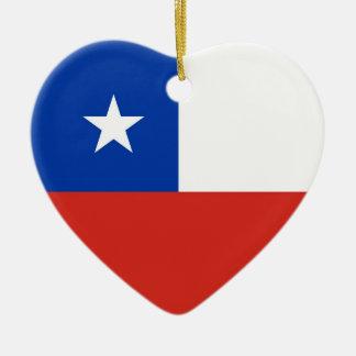 CHILE CERAMIC HEART DECORATION