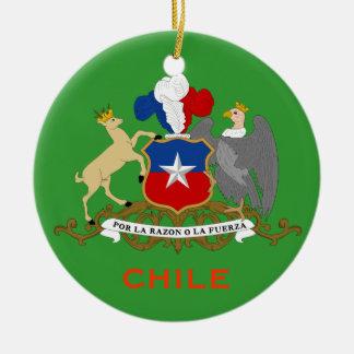 CHILE*- Cermamic Ornament