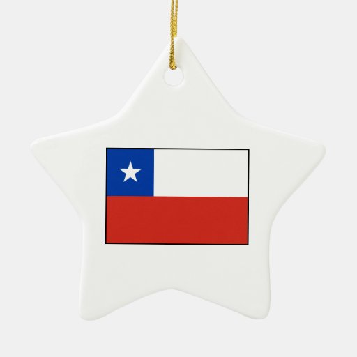 Chile – Chilean Flag Christmas Tree Ornaments
