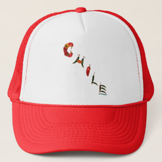 Chile Chili Peppers Trucker Hat