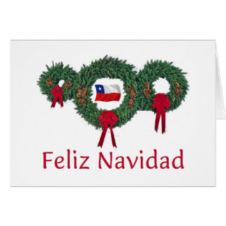 Chile Christmas 2 Card