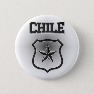 Chile  Coat of Arms 6 Cm Round Badge