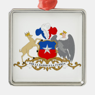 Chile Coat of Arms Christmas Ornament